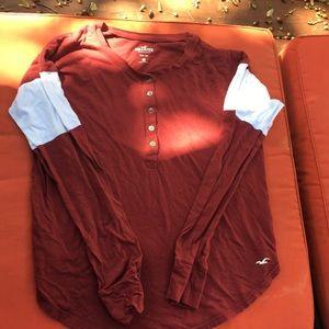 Hollister size medium long sleeve shirt